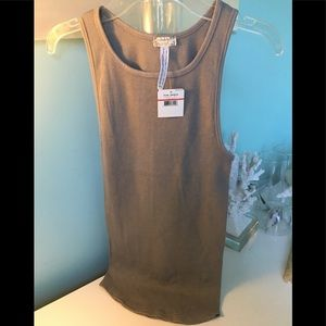 Free People Ribbed Women's Sleeveless  Tank Top